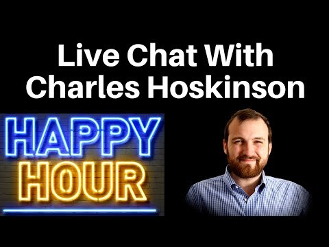 Crypto Happy Hour with Charles Hoskinson - Live Chat