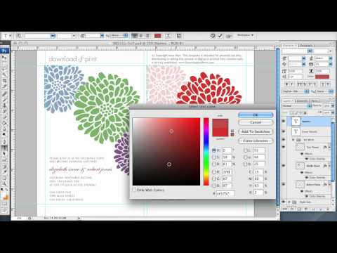 How to Make Your Own Invitations at Home with Photoshop