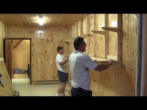 The Woodpecker Ep 88 - The shed shelves