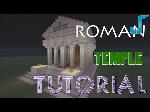 Minecraft Roman Temple Build [TUTORIAL] (Xbox, PS3, PC)