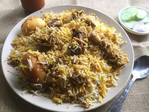 Kolkata Style Mutton Biryani   Mutton Biryani   Easy & Homemade Recipe    Main Course - In Bengali