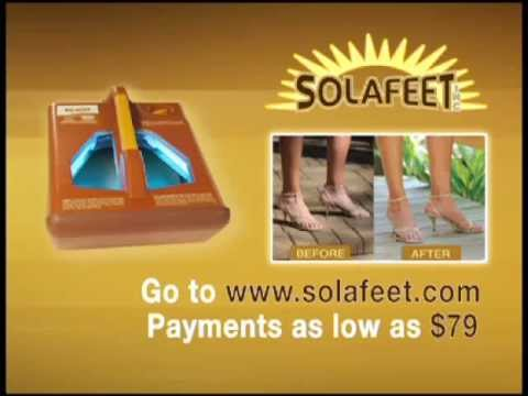 Solafeet - At Home Tanning Bed For Your Feet