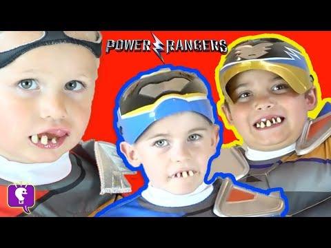 POWER Rangers FIGHT GERMS by HobbyKidsTV