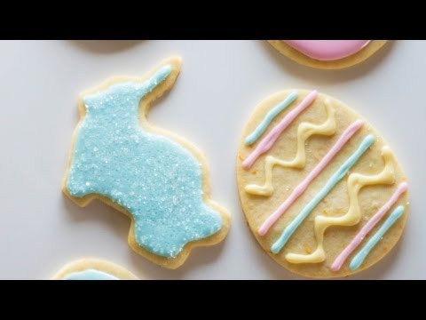 Easter Cutout Cookies | April Cookie of the Month