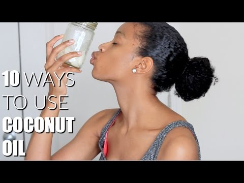 HOW TO: 10 Ways To Use Coconut Oil