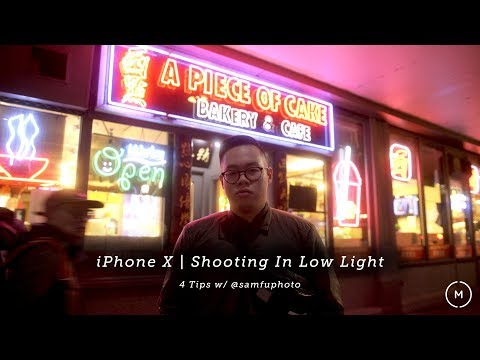iPhone X   How to Shoot Portraits in Low Light - 4 Tips w/ Sam Fu
