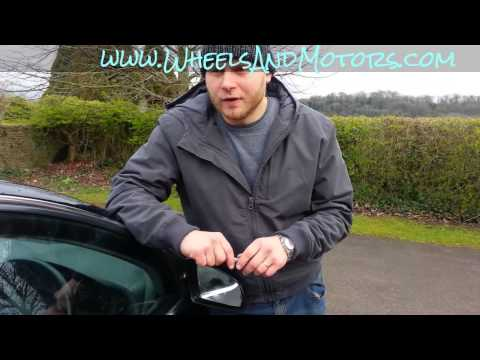 How to replace wing mirror - door mirror glass (heated) for Audi A6 (C6 4F)