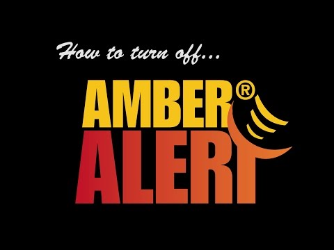 Turning Off Amber Alerts on Samsung Galaxy S7 - 2017