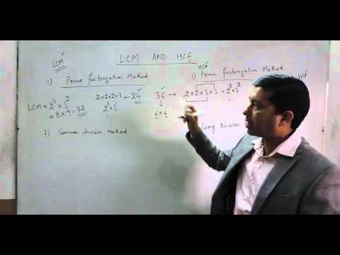 Methods for Finding LCM & HCF