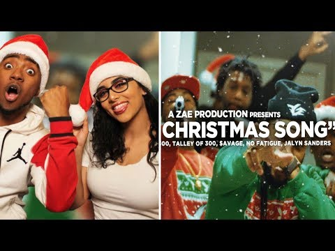 """Montana Of 300 x $avage x TO3 x Jalyn Sanders x No Fatigue """"FGE CHRISTMAS SONG"""" REACTION VIDEO 🔥😱"""