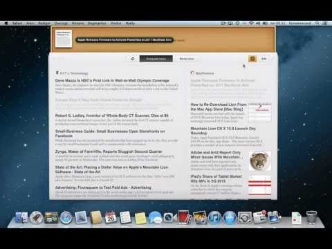 Pulp RSS Reader for the Mac