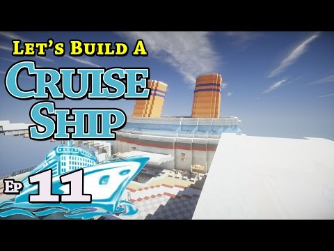 How To Build A Cruise Ship :: Minecraft :: E11 :: Z One N Only
