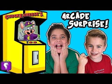 Chuck E Cheese's! Who's at Video Arcade? Part 1