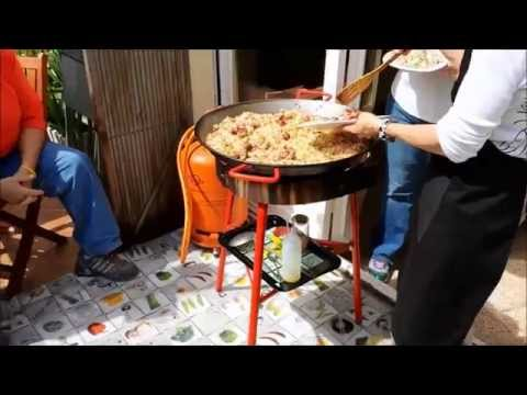 Barcelona Cooking Class with Marta:  Catalan Paella