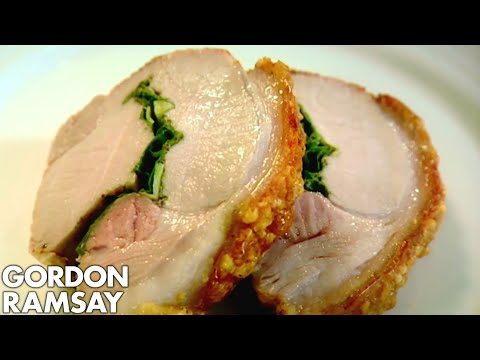 Roasted Rolled Pork Loin with Lemon and Sage - Gordon Ramsay