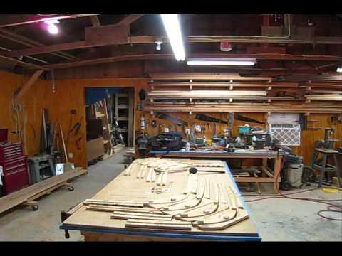 Steam Bending Oak Ribs Wooden Boat Restoration