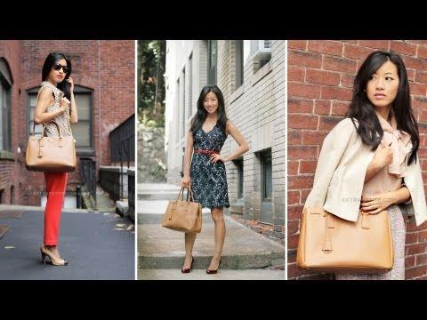 Prada Saffiano Lux Tote / Handbag Review
