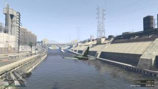Grand Theft Auto V has a bug in the flight school missions