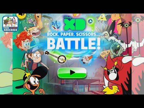 Disney XD: Rock, Paper, Scissors... Battle! - Take On All Challengers (Disney Games)