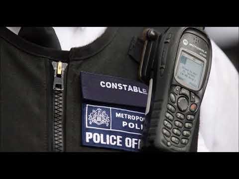Motorola MTH800 UK police Radio Chatter
