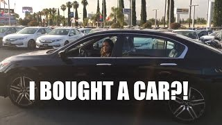 I BOUGHT MY FIRST CAR!!!