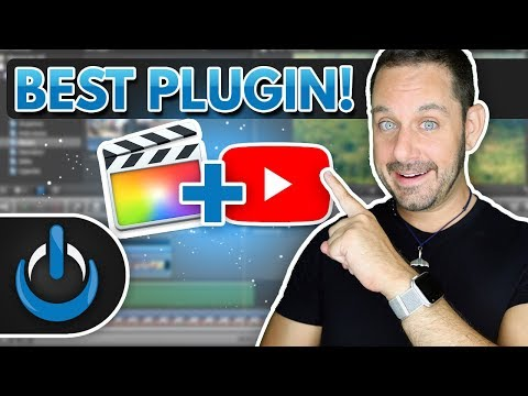 Best Final Cut Pro X Plugin for YouTube Video Content Creators