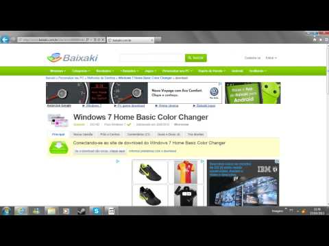 #1 Tutorial: Win 7 Home Basic Change Color