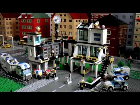 How To Make A Lego Police Station 7498