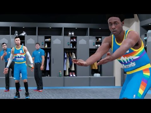 SHAMMY AND DJ GET IN FIGHT AFTER TRADE! NBA 2K18 My Career