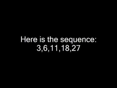 Maths- Finding the nth term of a quadratic sequence