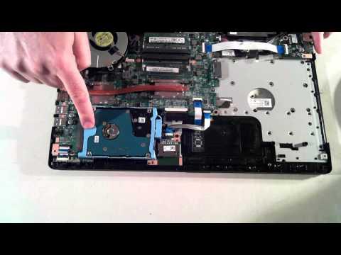 Toshiba Satellite Pro L50-B Teardown / Upgrade / Take Apart