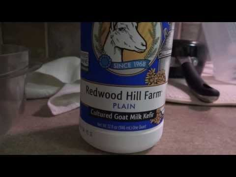 How to make whey from Goat Milk Kefir