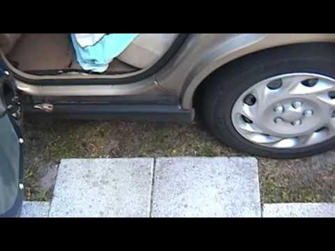 Saturn L-Series - Rear Door Broken Wiring