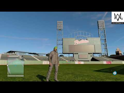 WATCH_DOGS® 2_HOW TO GET IN SF GIANTS BASEBALL STADIUM