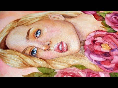 How to Paint Fair Skin Tone with Watercolor | Philippines
