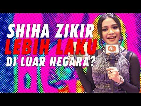 Shiha Zikir merajuk dengan peminat Malaysia?