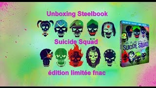 Unboxing steelbook collector Suicide Squad