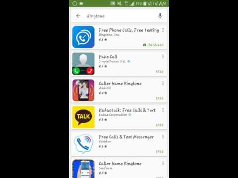 Private call or fake call app latest 2016..