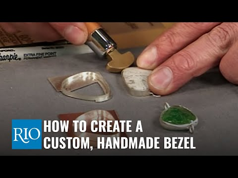 How To Create A Custom-Fitted Handmade Bezel