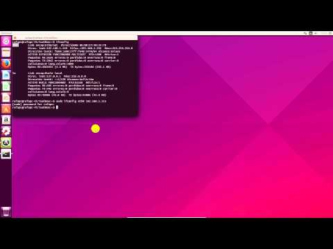 Como cambiar mi ip en Ubuntu a través de comandos