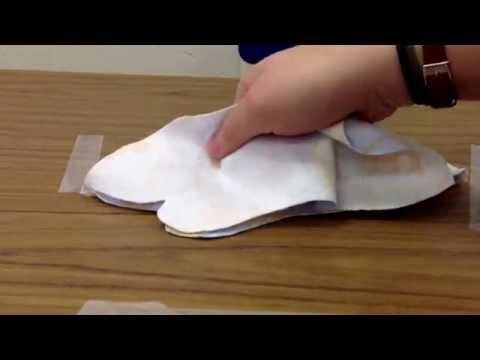 Mole Project - sewing the mole