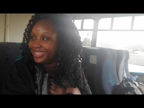 Dangerous LA Bus Ride to LAX // Travel Vlog
