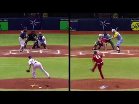 AMAZING: CATCHER throws to third base