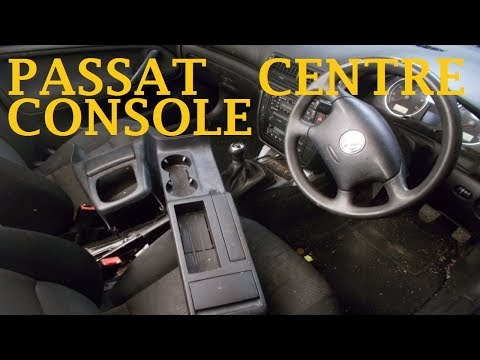 Volkswagen Passat Centre Console Removal