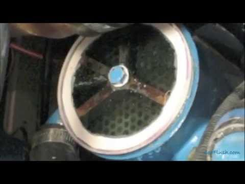 How to Clean a Boat Engine Heat Exhanger using Sea Flush and Barnacle Buster