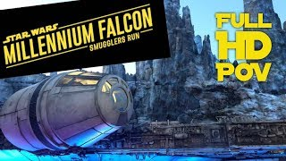 Millennium Falcon Smugglers Run FULL HD POV At Star Wars Galaxy