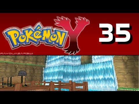 Pokemon Y Blind - Episode 35 Couriway Town