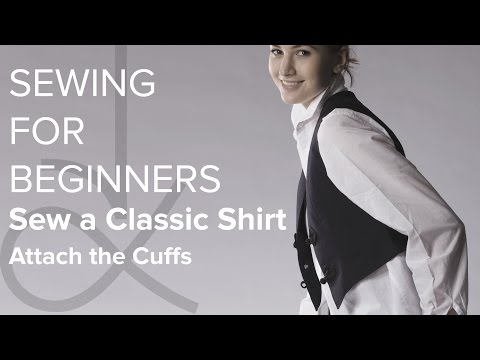 Sewing for Beginners, How to Sew a Shirt Part 10