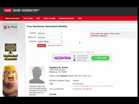 fakenamegenerator.com