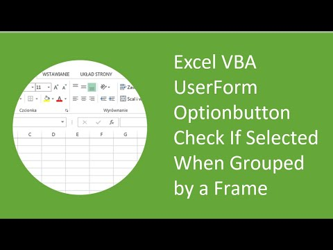 Excel VBA UserForm Optionbutton Check If Selected When Grouped by a Frame